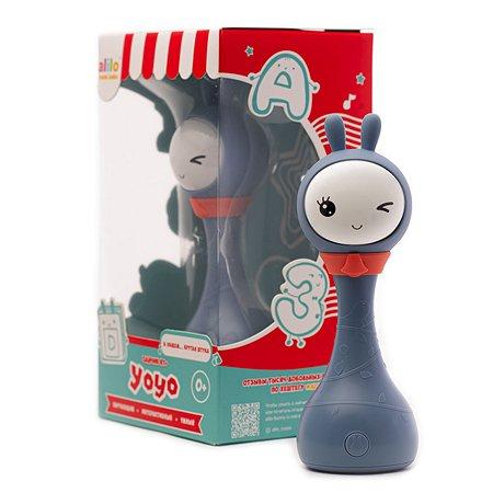 Игрушка alilo Умный зайка R1 +Yoyo Синий 61035