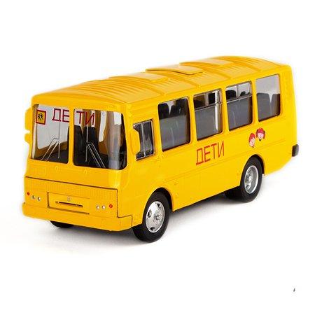 Машинка AUTOGRAND школьный автобус 1 43 49030