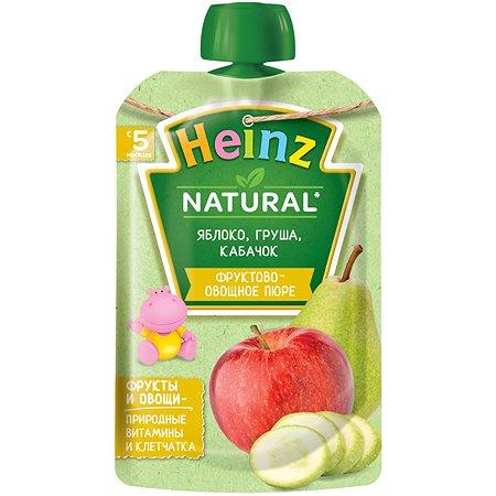 Пюре Heinz яблоко-груша-кабачок 90г с 5месяцев