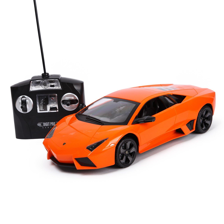 Машинка Mobicaro РУ 1:14 Lamborghini Reventon Оранжевая YS249593-O