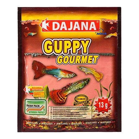 Корм для рыб DAJANA Guppy Gourmet Хлопья 80мл DP003S