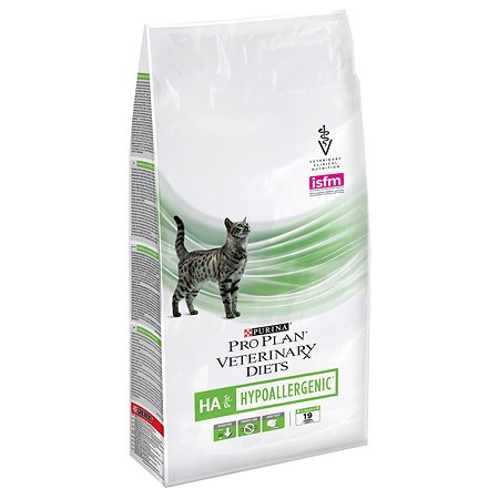 Корм для кошек Purina Pro Plan Veterinary diets HА профилактика аллергии 1.3кг
