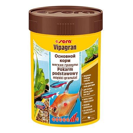 Корм для рыб Sera Vipagran основной гранулы 30г