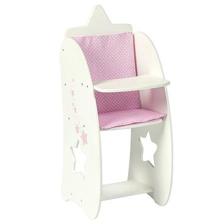 Мебель для кукол PAREMO Стульчик Звездочка Белый PFD120-66
