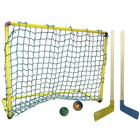 Набор для хоккея ASE-SPORT 2клюшки+шайба+мячик+ворота 12-3