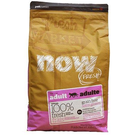 Корм сухой для кошек Now Fresh 7.26кг беззерновой с индейкой уткой и овощами