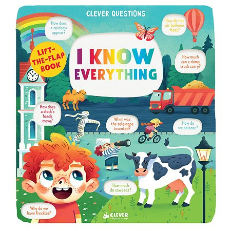 Книга Clever I Know Everything Clever Questions