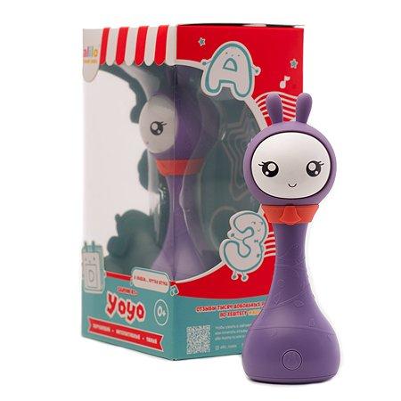 Игрушка alilo Умный зайка R1 +Yoyo Фиолетовый 61037