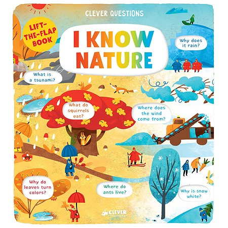 Книга Clever I Know Nature Clever Questions