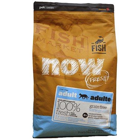 Корм сухой для кошек Now Fresh 3.63кг беззерновой с форелью и лососем для чувствительного пищеварения