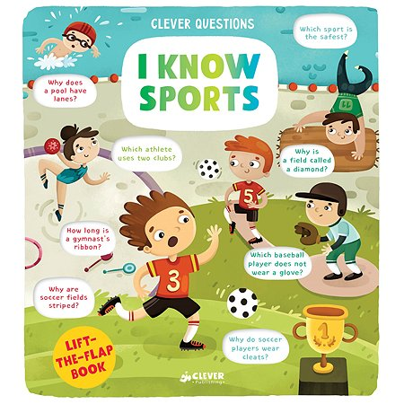 Книга Clever I Know Sports Clever Questions