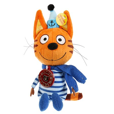 Игрушка мягкая Мульти Пульти Три кота Коржик в зимней одежде 258342