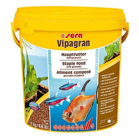 Корм для рыб Sera Vipagran основной гранулы 3кг