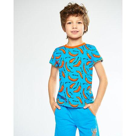 Футболка Futurino Fashion голубая