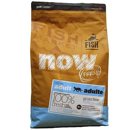 Корм сухой для кошек Now Fresh 7.26кг беззерновой с форелью и лососем для чувствительного пищеварения