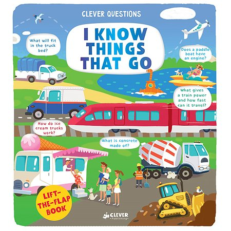 Книга Clever I Know Things That Go Clever Questions