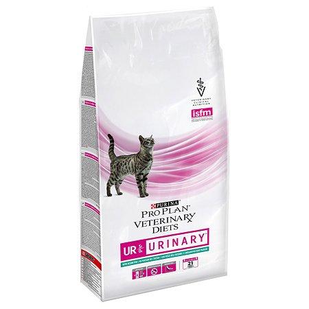 Корм для кошек Purina Pro Plan Veterinary diets UR при МКБ с океанической рыбой 1.5кг