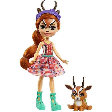 Кукла Enchantimals Габриэла Газелли и Рейсер GTM26