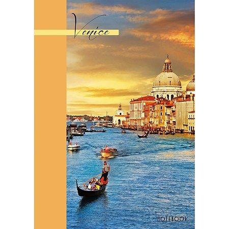 Книга для записей Listoff Вечерняя Венеция 80л