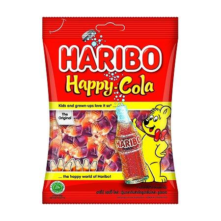 Мармелад жевательный HARIBO Happy cola Веселая Кола 80г