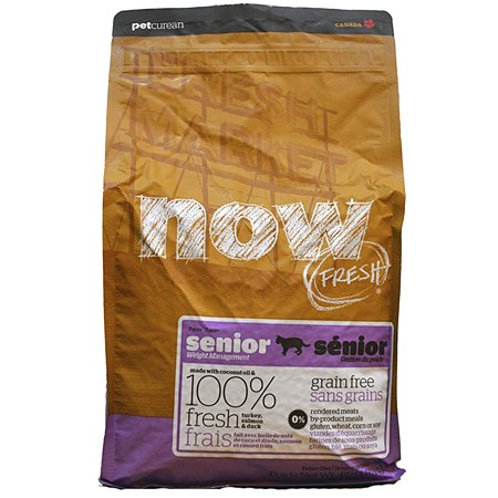 Корм сухой для кошек Now Fresh 7.26кг беззерновой с индейкой уткой и овощами для контроля веса