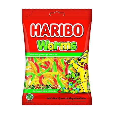 Мармелад жевательный HARIBO Worms Червячки 80г