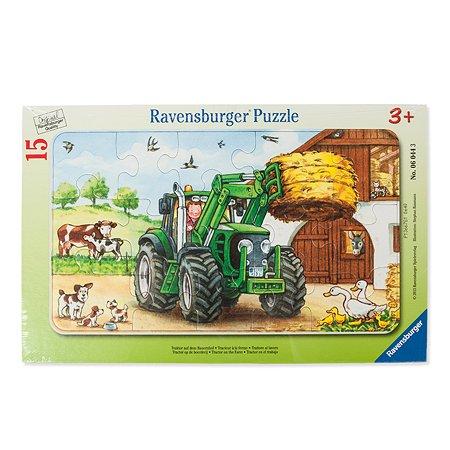Пазлы Ravensburger Коровы на лугу 15 эл