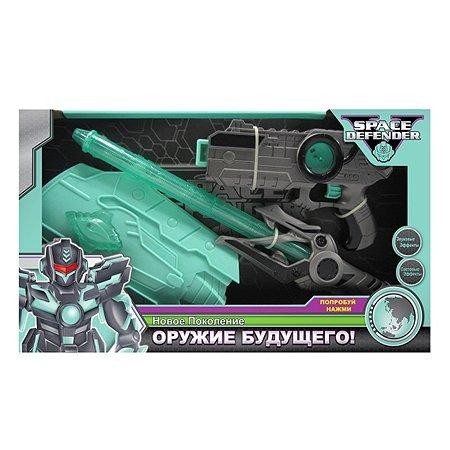Космическое оружие Space Defender (пистолет, меч, щит)