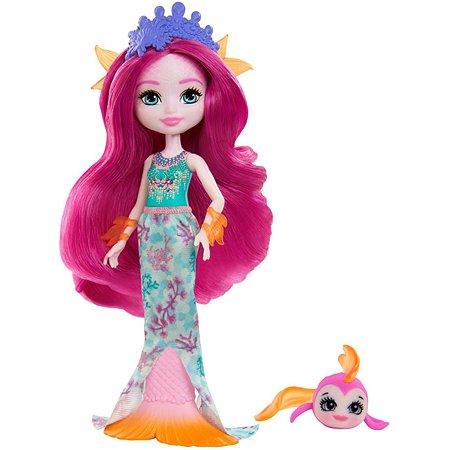 Кукла Enchantimals Маура Русалка и Глайд GYJ02