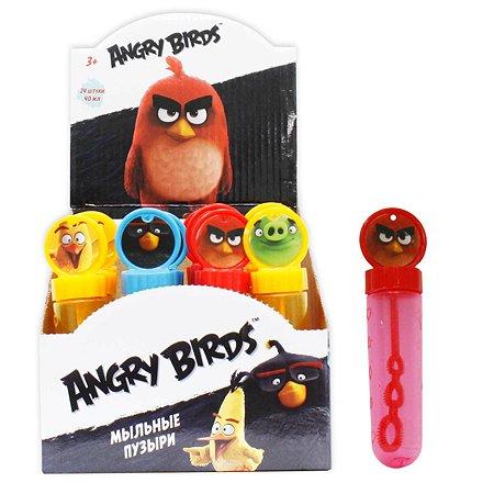 Мыльные пузыри 1TOY колба Angry Birds 40 мл