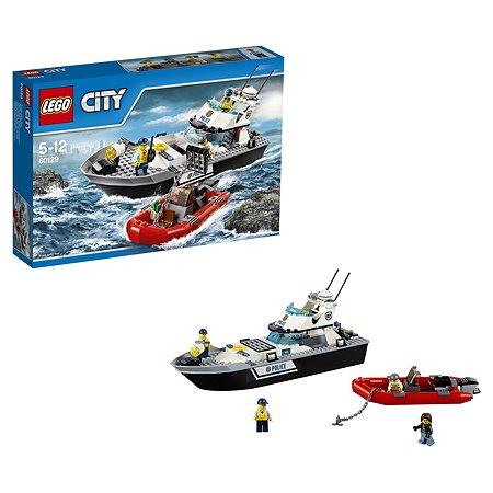 Конструктор LEGO City Police Полицейский патрульный катер (60129)