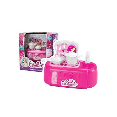 Плита игрушечная EstaBella с посудой (свет)