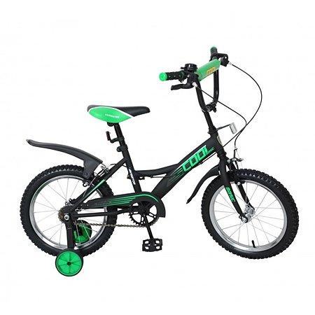 """Велосипед Navigator Basic COOL  16""""  черно-зеленый"""