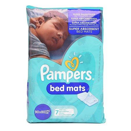 Простыни Pampers BedMats впитывающие 90*80см 7шт