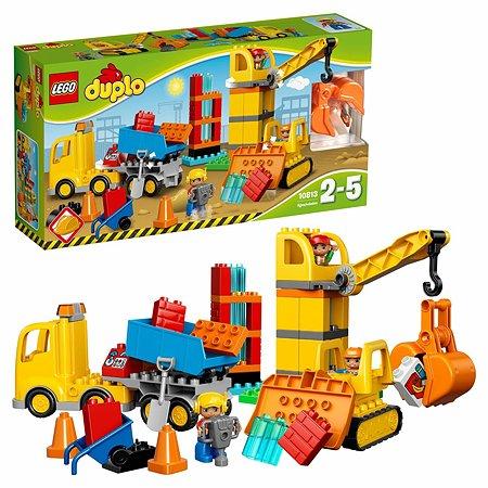 Конструктор LEGO DUPLO Town Большая стройплощадка (10813)
