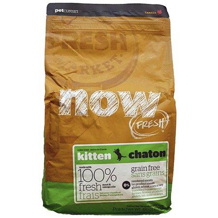 Корм сухой для кошек Now Fresh 1.81кг беззерновой с индейкой уткой и овощами