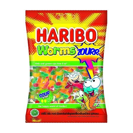 Мармелад жевательный HARIBO Worms zourr Червячки с кислинкой 80г