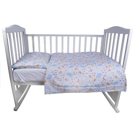 Комплект постельного белья Babyton Сиба 3предмета 10042