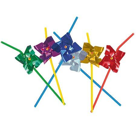 Трубочки для коктейля Herlitz Торжество Ветерок 24см 10шт 11350493