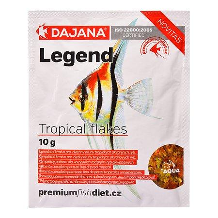 Корм для рыб DAJANA Legend Tropical Хлопья 80мл DP016S0