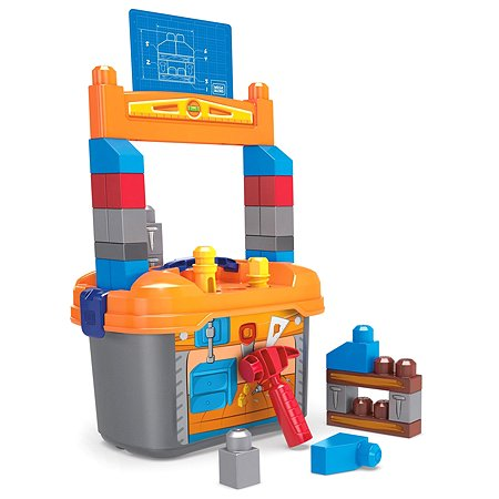 Конструктор Mega Bloks Рабочее место маленького строителя GNT92