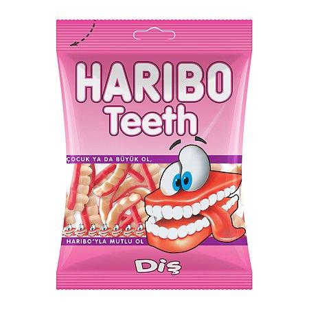 Мармелад жевательный HARIBO Teeth Зубы 80г TR16420