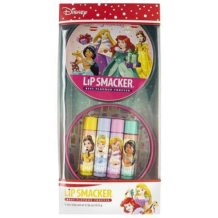 Набор бальзамов для губ Lip Smacker Princess 4шт 1481957E