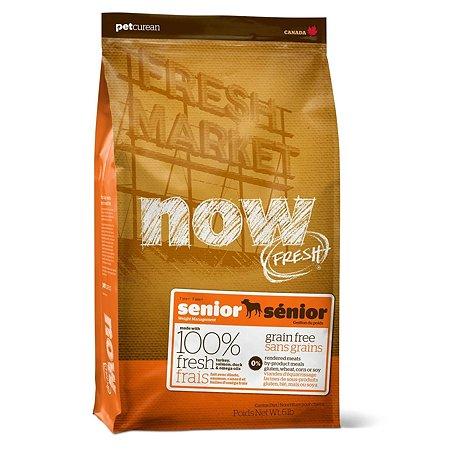 Корм для собак Now Fresh для контроля веса беззерновой с индейкой уткой и овощами сухой 5.44кг