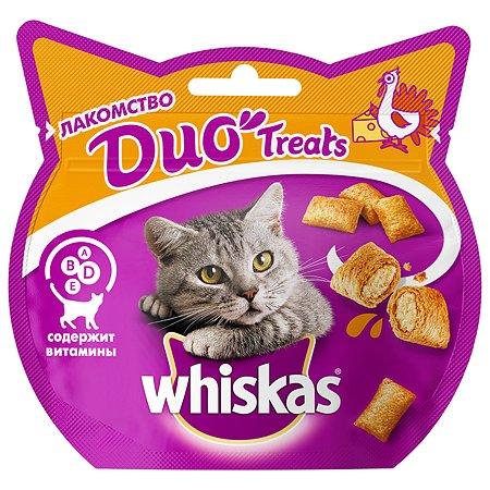 Лакомство для кошек Whiskas с индейкой и сыром 40г