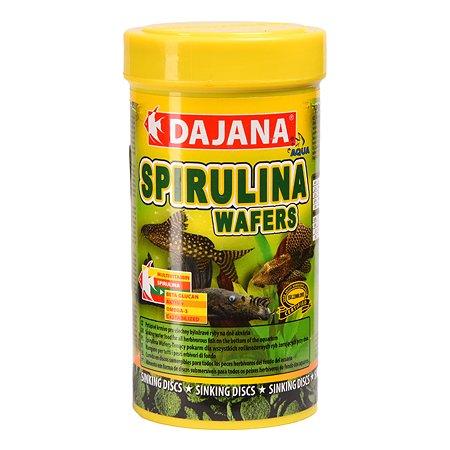 Корм для рыб DAJANA Spirulina таблетки 250мл DP060B