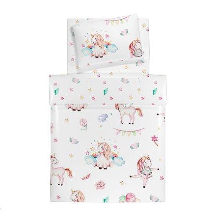 Комплект постельного белья Babyton Модница 3предмета 10060