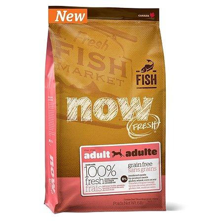 Корм для собак Now Fresh беззерновой с форелью и лососем сухой 2.72кг