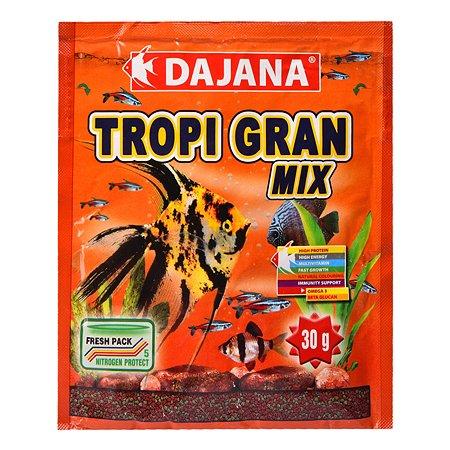 Корм для рыб DAJANA Tropi гранулы 80мл DP100S