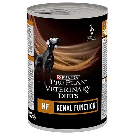 Корм для собак Purina Pro Plan Veterinary diets NF при патологии почек консервированный 400г